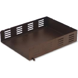 Lorell Stamped Metal Front Loading Letter Tray - Office Supplies