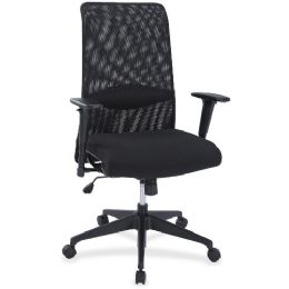 Lorell SynchrO-Tilt Mesh Back Suspension Chair - Pens & Pencils