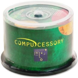 Compucessory CD Recordable Media - CD-R - 52x - 700 MB - 50 Pack Spindle - Data Media