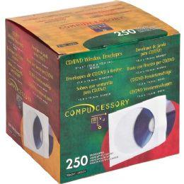 Compucessory Cd/dvd Window Envelopes - Envelopes