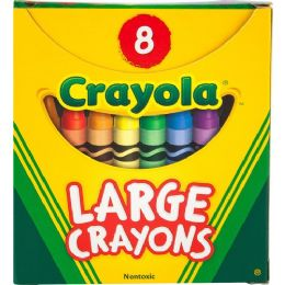 288 Units of Crayola 52-0080 Crayon - Crayon