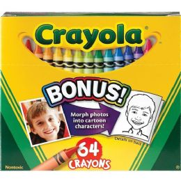 96 Units of Crayola 52-064D Crayon Set - Crayon