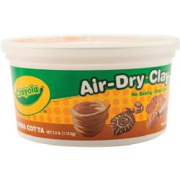 84 Units of Crayola AiR-Dry Clay - Office Supplies