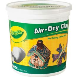 44 Units of Crayola AiR-Dry Clay Bucket - Office Supplies