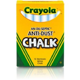 648 Units of Crayola AntI-Dust Chalk - Office Supplies