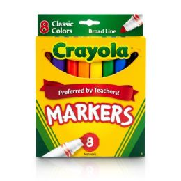 144 Units of Crayola Classic Colors Markers - Markers