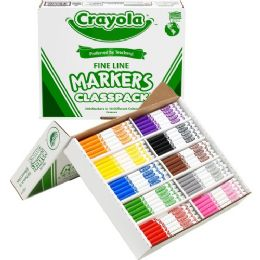 Crayola Classpack Fine Line Markers - Markers