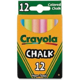 648 Units of Crayola Colored Chalk - Office Supplies