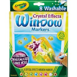 120 Units of Crayola Crystal Effect Window Marker - Markers