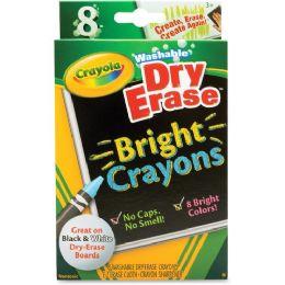 120 Units of Crayola Dry Erase Crayon - Dry erase