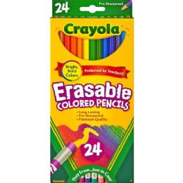 72 Units of Crayola Erasable colored pencils - Office Supplies