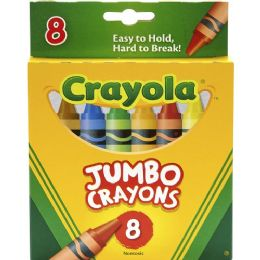 144 Units of Crayola Jumbo Crayons - Crayon