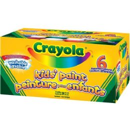 108 Units of Crayola Washable Kid's Paint - Paint