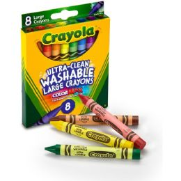 192 Units of Crayola Kid's First Washable Crayon - Crayon