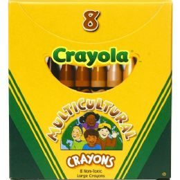 216 Units of Crayola Large Multicultural Crayon - Crayon