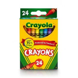 240 Units of Crayola Lift Lid Crayola Crayon Sets - Crayon
