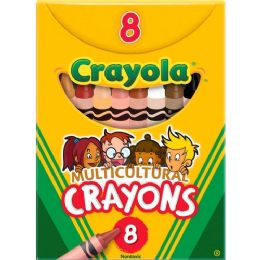 528 Units of Crayola Multicultural Crayons - Crayon