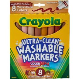 120 Units of Crayola Multicultural Marker - Markers