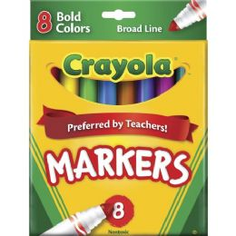 144 Units of Crayola Regular Bold Markers - Markers