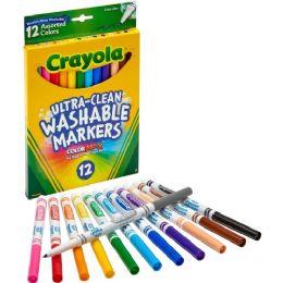 72 Units of Crayola Thinline Washable Marker - Markers