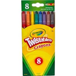 144 Units of Crayola Twistable Crayola Crayon - Crayon