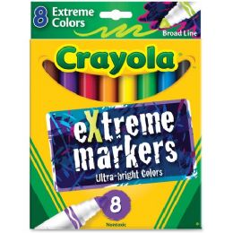144 Units of Crayola Ultra Bright eXtreme Marker - Markers