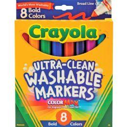 120 Units of Crayola Washable Bold Markers - Markers