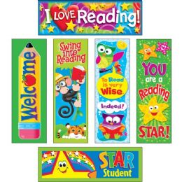 Trend Reading Fun Bookmark Combo Packs - Classroom Learning Aids