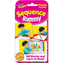 Trend Sequence Rummy Challenge Cards - Classroom Learning Aids
