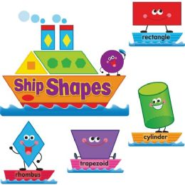 Trend Ship Shapes/colors Bulletin Board Set - Bulletin Boards & Push Pins
