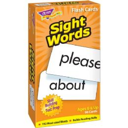 Trend Sight Words Skill Drill Flash Cards - Classroom Learning Aids