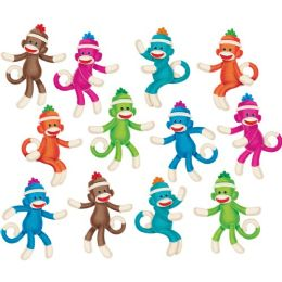 108 Units of Trend Sock Monkey Solids Classic Accents, 36 Pieces, Multi - Classroom Learning Aids