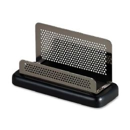 104 Units of Rolodex Distinctions Pewter Business Card Holder - Business cards