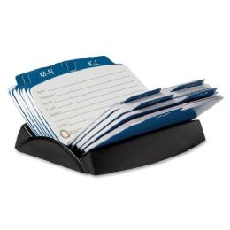 132 Units of Rolodex Petite 6-Divider Open Petite Card File - Dividers & Index Cards