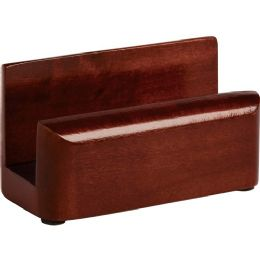 Rolodex Wood Tones Business Card Holder - Business cards