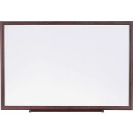 Lorell Wood Frame Dry-Erase Boards - Frame