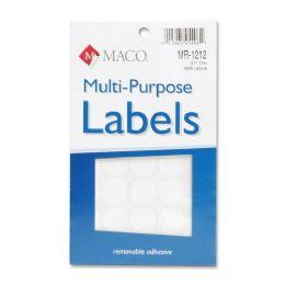 180 Units of Maco Color Coding Labels - Labels