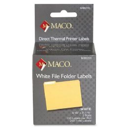 54 Units of Maco Direct Thermal Printer Labels - Labels