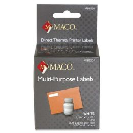 48 Units of Maco Direct Thermal Printer Labels - Labels