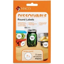 Maco Dissolvable Labels - Labels