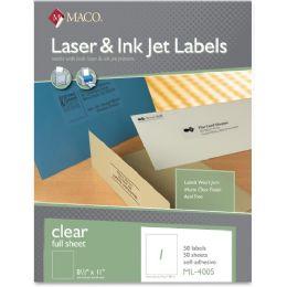 15 Units of Maco Mailing Laser Label - Labels