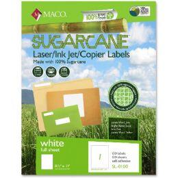 Maco Printable Sugarcane Mailing Label - Labels