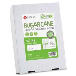 10 Units of Maco Printable Sugarcane Mailing Labels - Labels