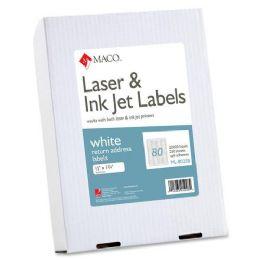 12 Units of Maco Return Address Label - Labels