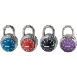 Master Lock Colored Dial Combination Padlock - Office Clipboards