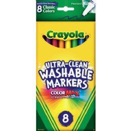 120 Units of Crayola Washable Thinline Marker - Markers