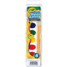 192 Units of Crayola Washable Watercolor Set - Paint, Brushes & Finger Paint