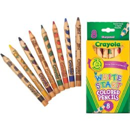 120 Units of Crayola Write Start Colored Pencil - Office Supplies