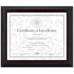 72 Units of Dax 2-tone Stepped Edge Document Frame - Frame