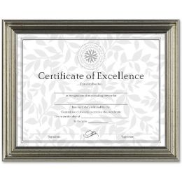 Dax Antique-Colored Certificate Frame - Frame
